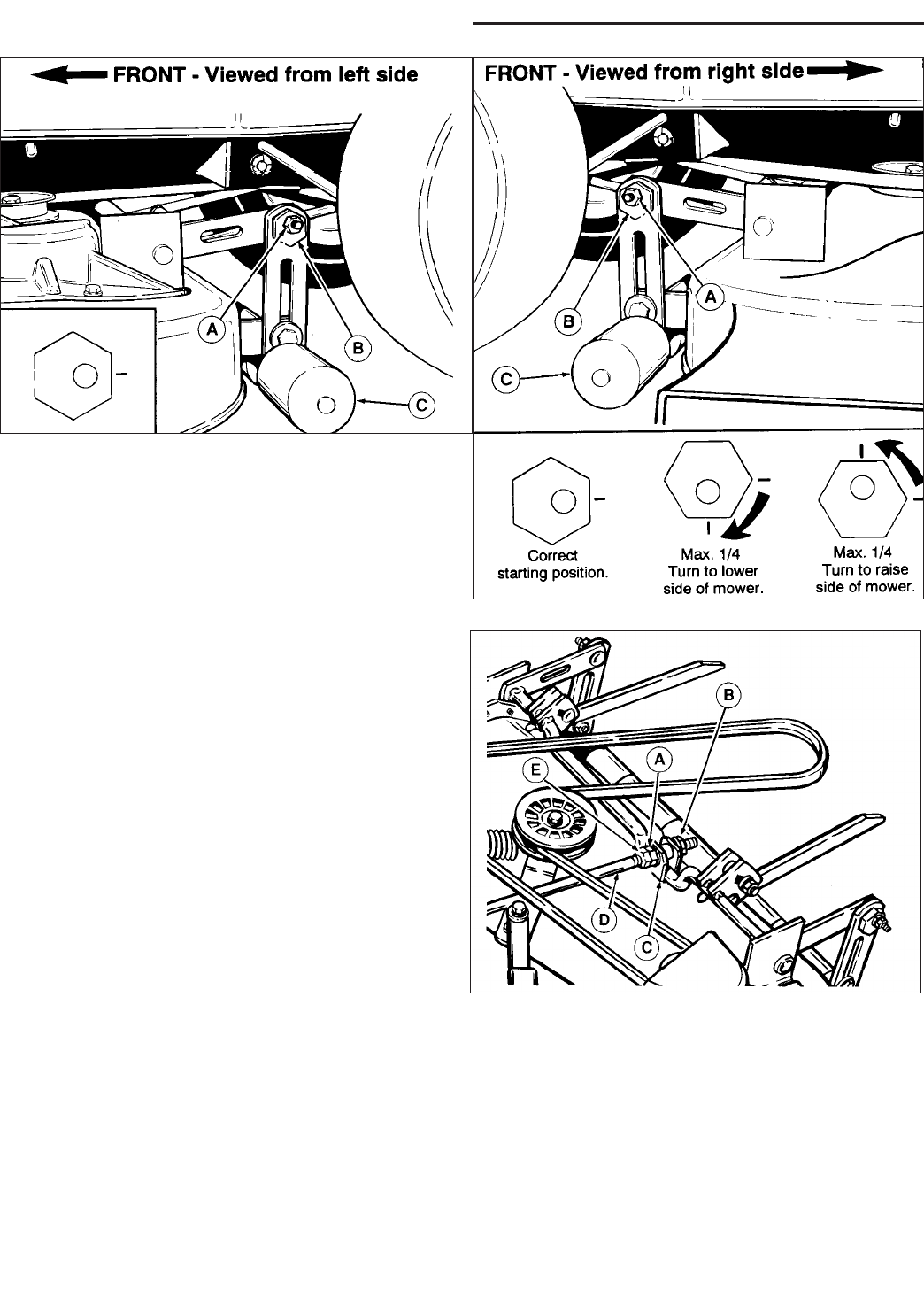 Page 30 of Snapper Lawn Mower RE 200 User Guide