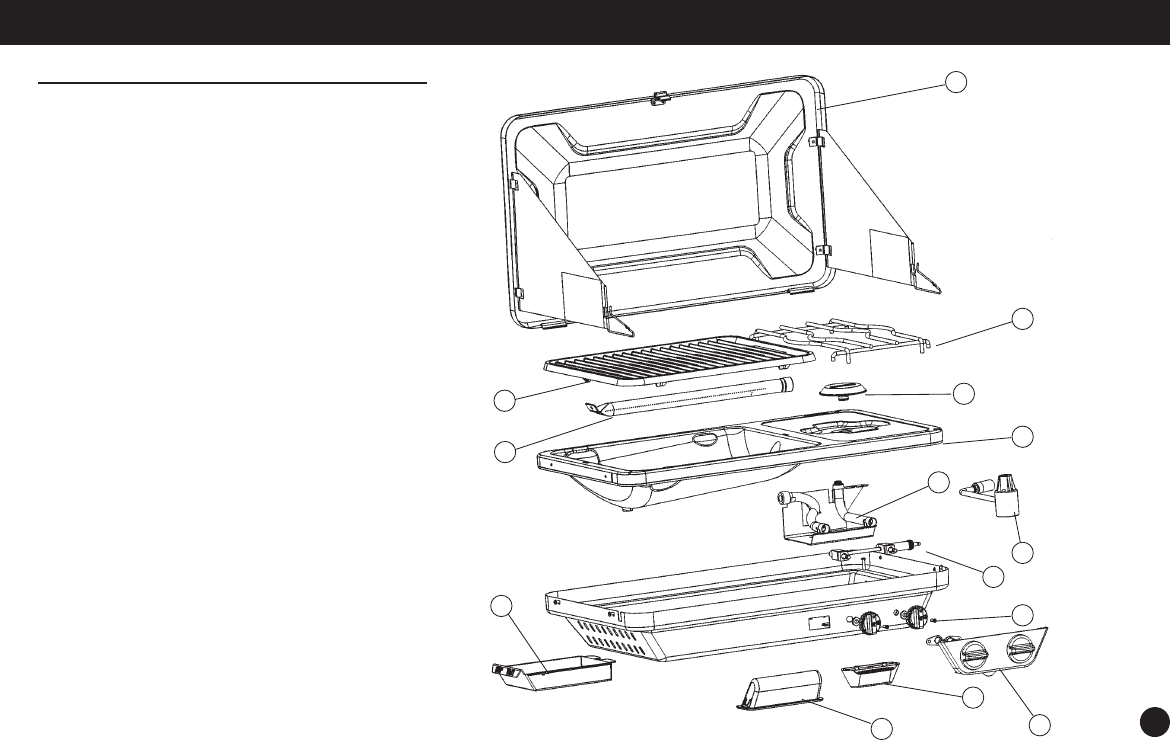 Page 9 of Coleman Gas Grill 9921A User Guide