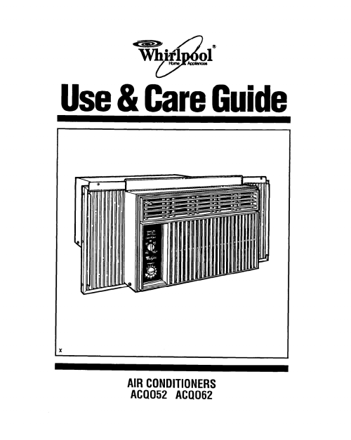 small resolution of whirlpool air conditioner acs088gpw manual 1990 geo prizm fuse box