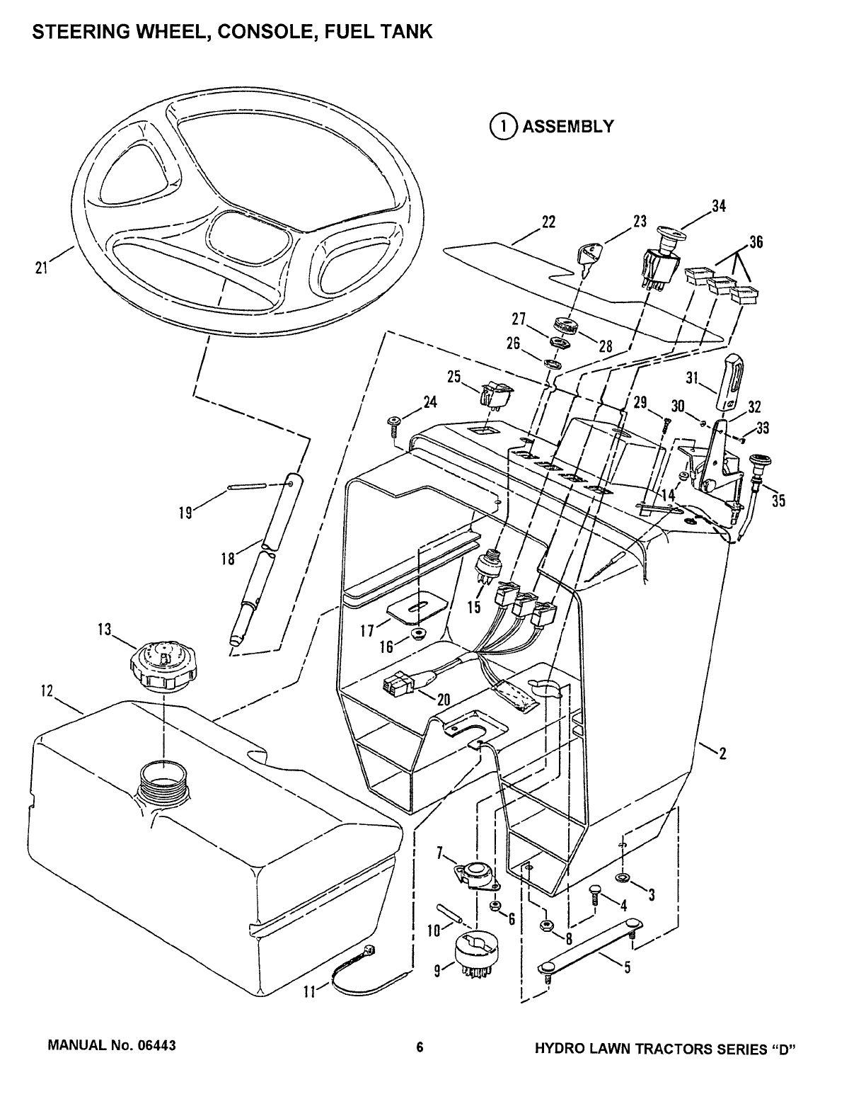 Page 6 of Snapper Lawn Mower LT160H42dbv2 User Guide