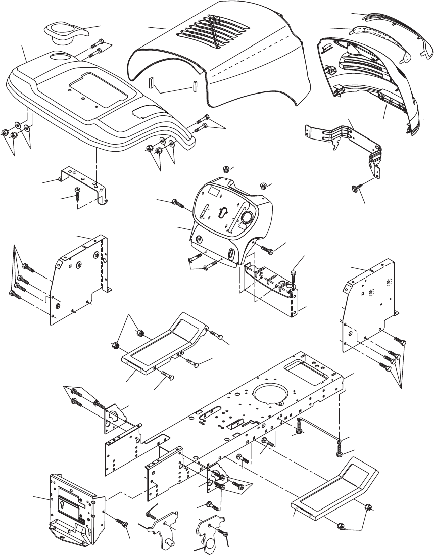 Page 6 of Poulan Lawn Mower P017542LT User Guide