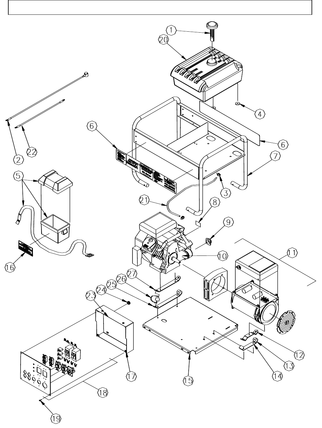 Page 38 of North Star Portable Generator M165923V.1 User
