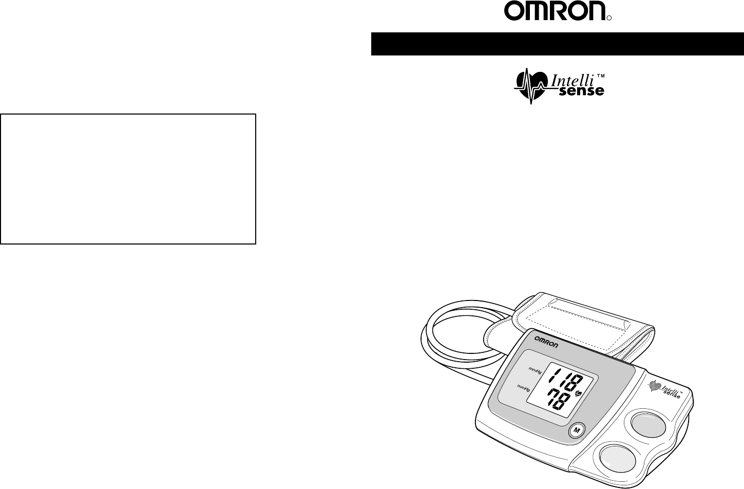 Omron Hem 7130 Instruction Manual