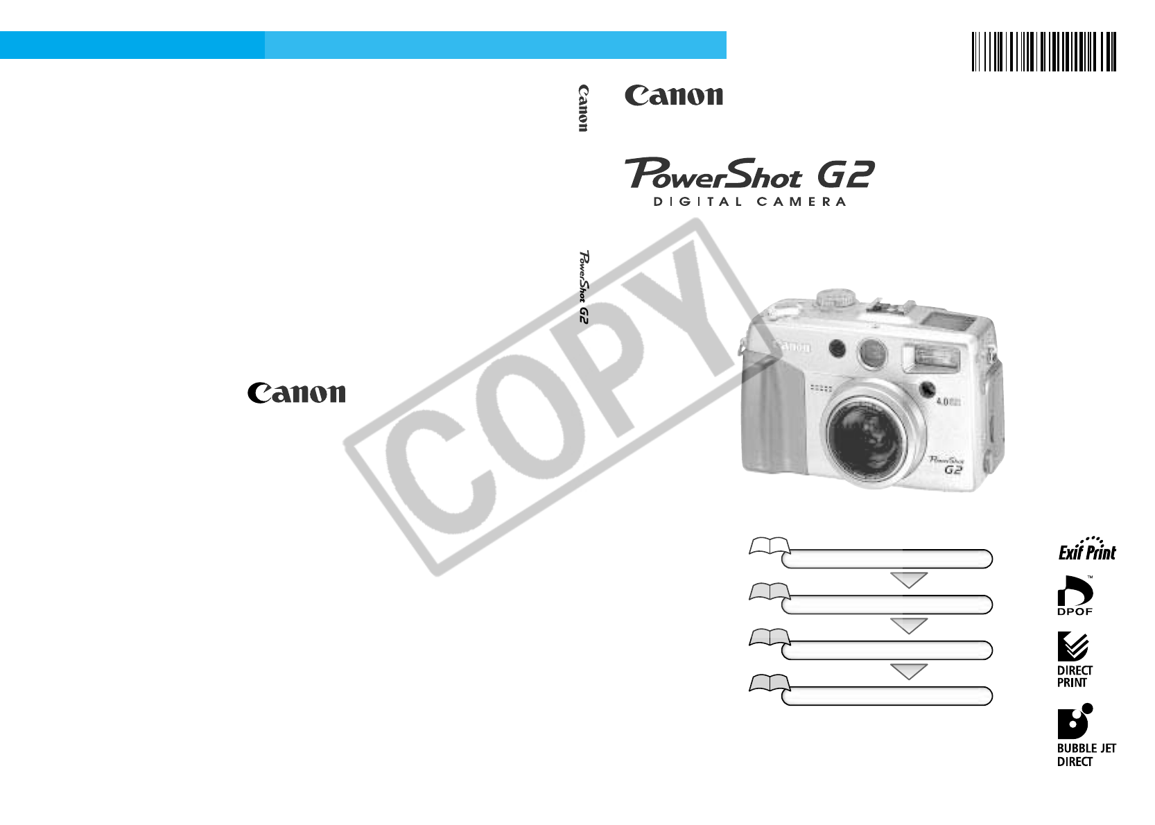 Canon Digital Camera G2 (PC1015) User Guide