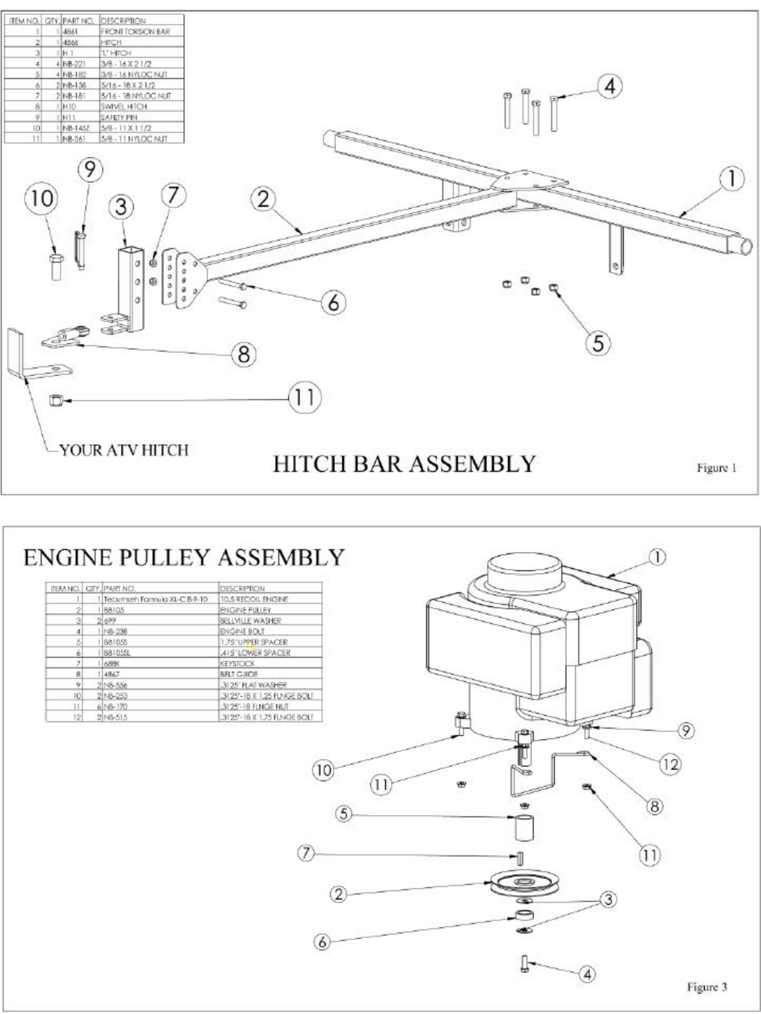 Page 8 of Swisher Lawn Mower RT10544, RT80044 User Guide