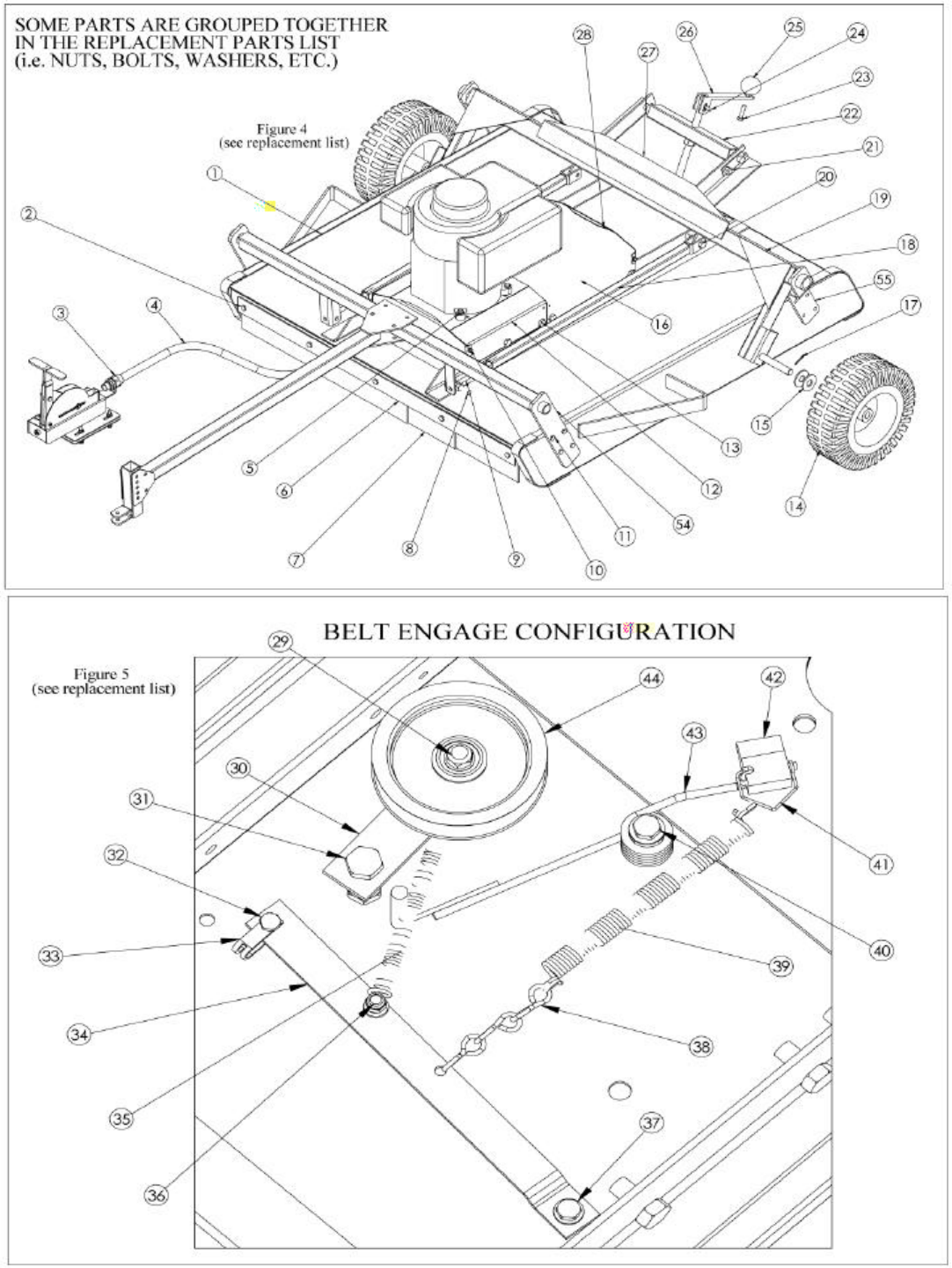 Page 12 of Swisher Lawn Mower RT10544, RT80044 User Guide