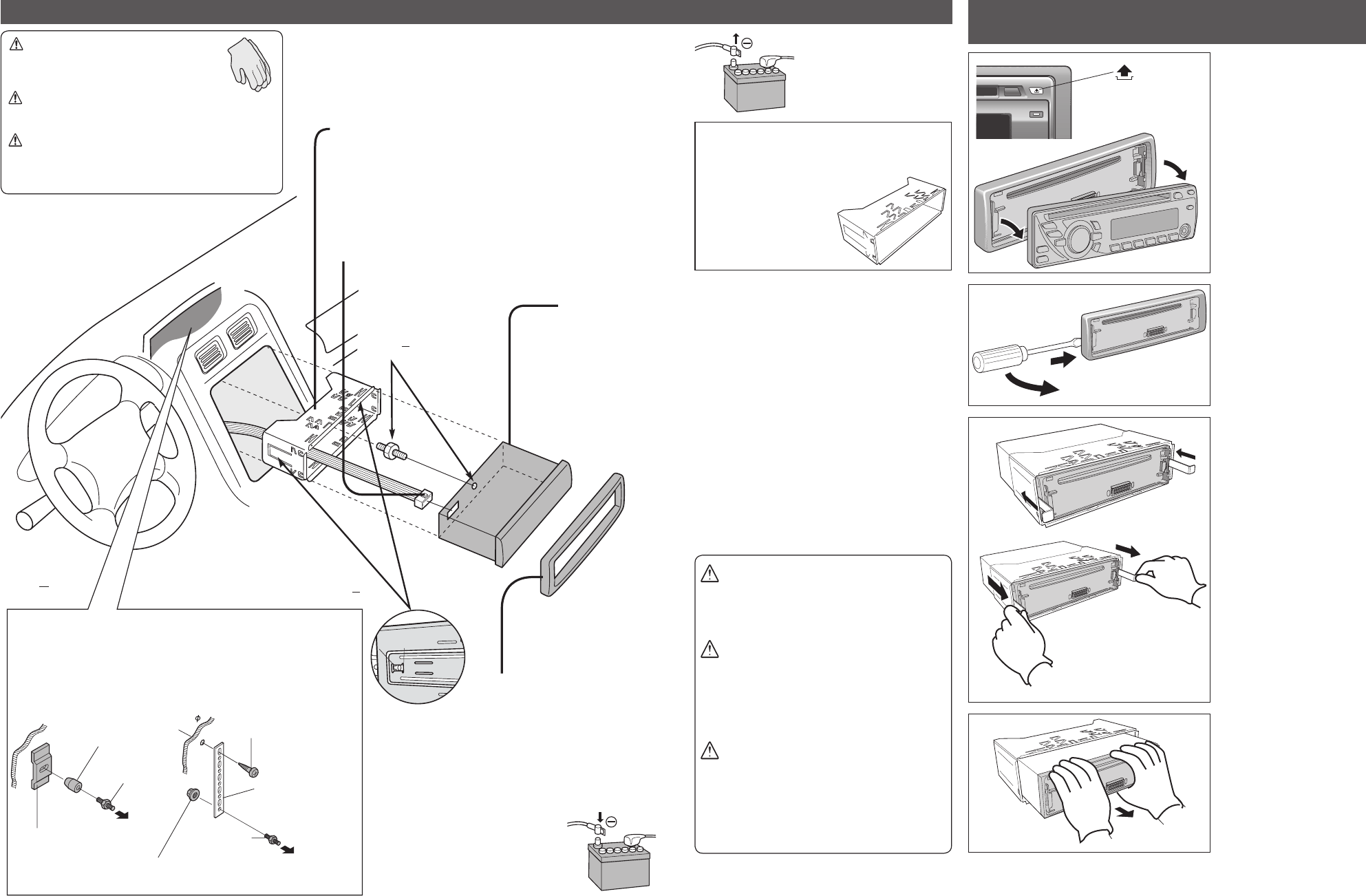 Page 22 of Panasonic Car Stereo System C1305L User Guide