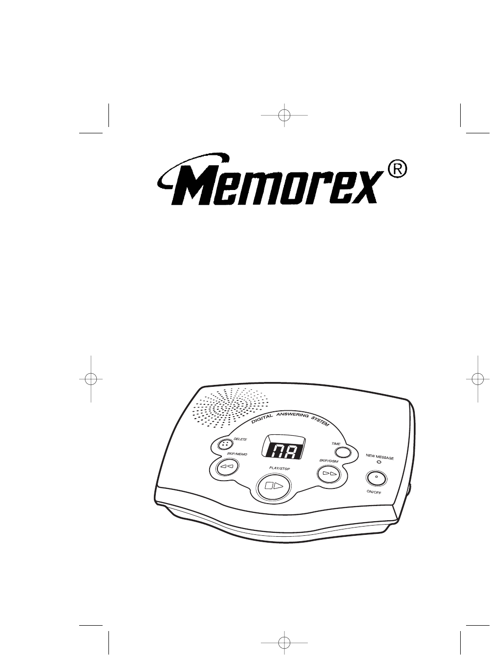 Memorex Answering Machine MPH2089 User Guide