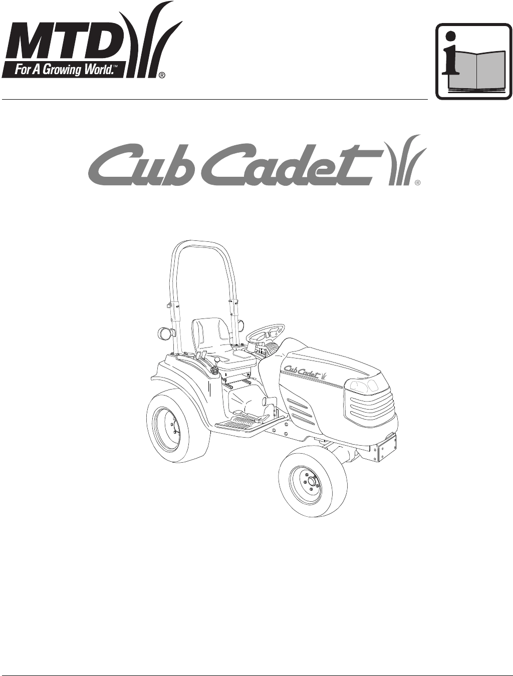 Cub Cadet Lawn Mower 7000 Series User Guide