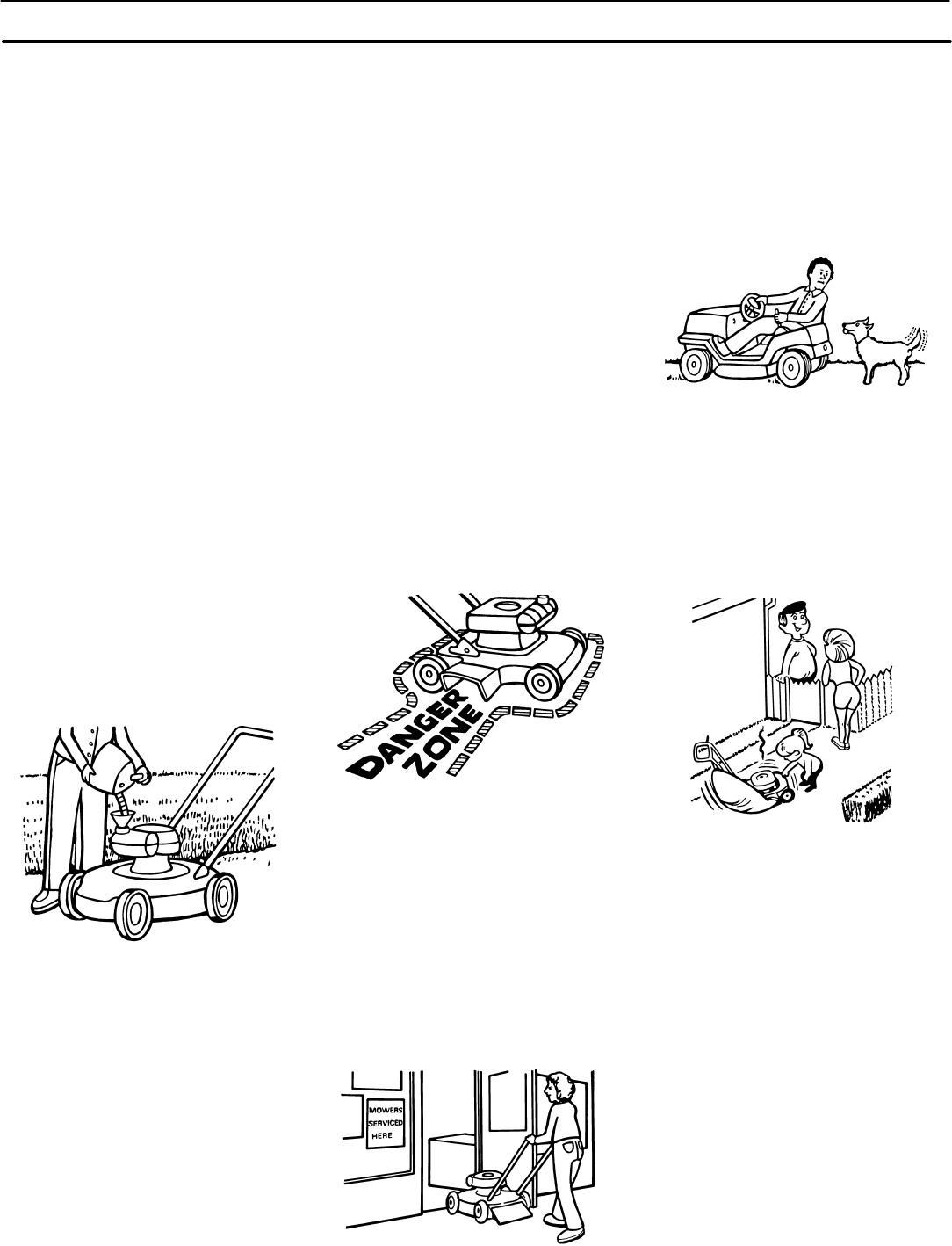 Page 6 of Murray Lawn Mower 309001x18A User Guide