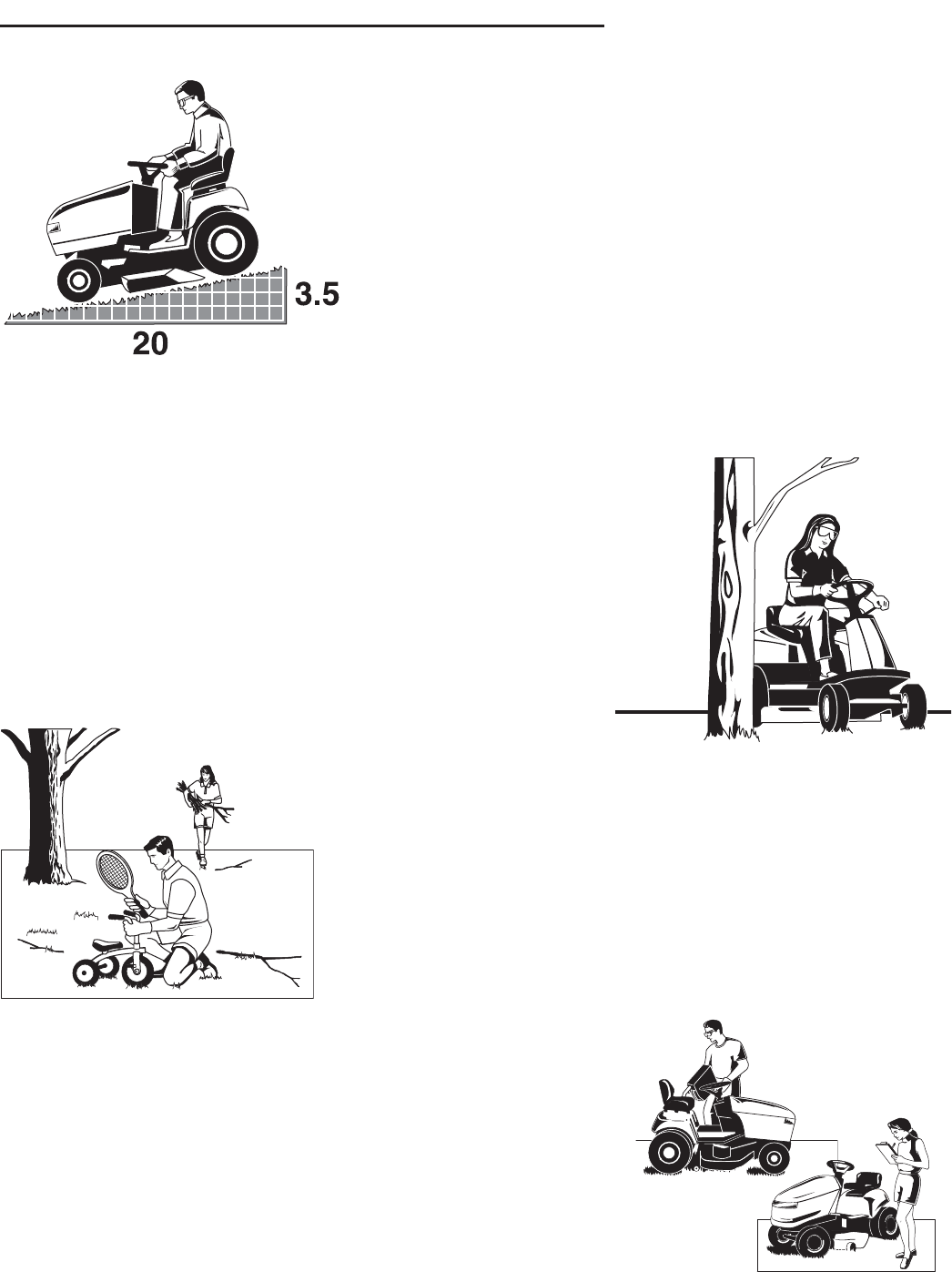 Page 5 of Snapper Lawn Mower LT-200 User Guide