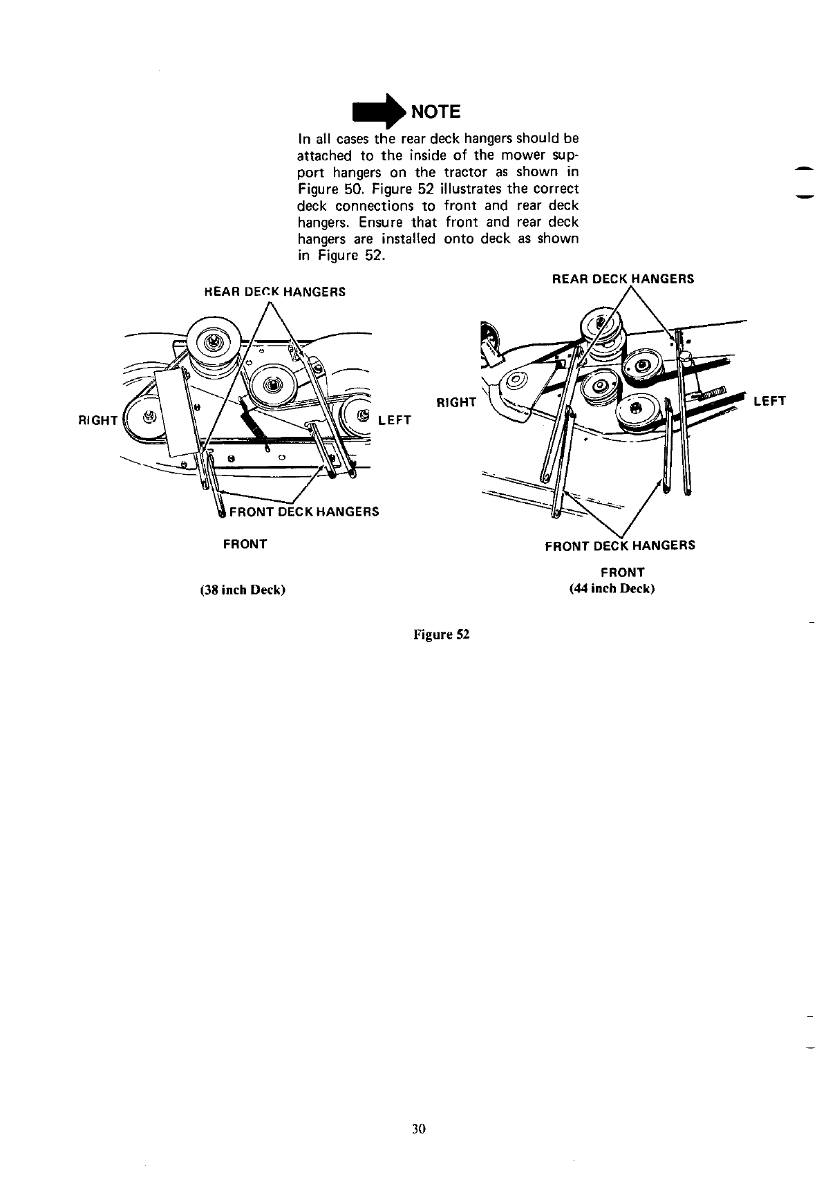Page 30 of Cub Cadet Lawn Mower 1215 User Guide