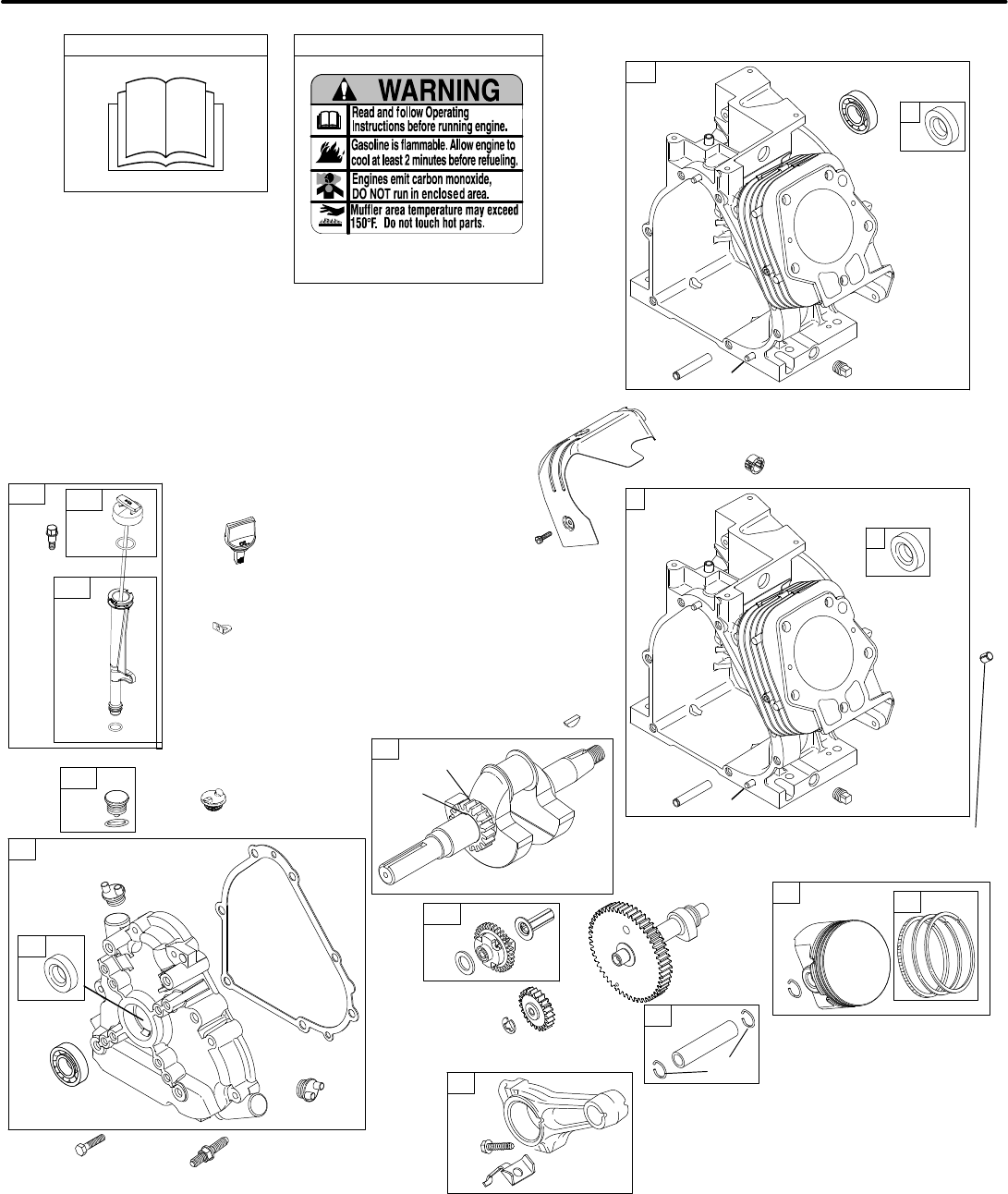 Page 2 of Briggs & Stratton Lawn Mower 205300 User Guide