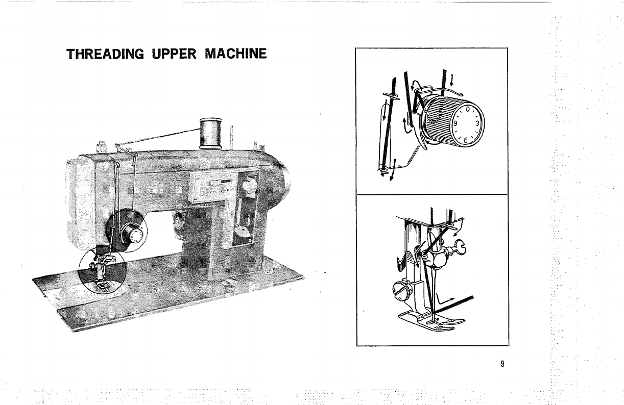 Page 10 of Kenmore Sewing Machine 1500 User Guide