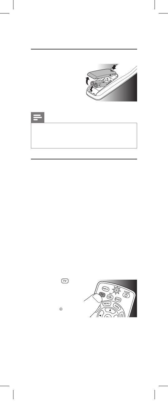 Page 4 of Philips Universal Remote SRP2003/27 User Guide