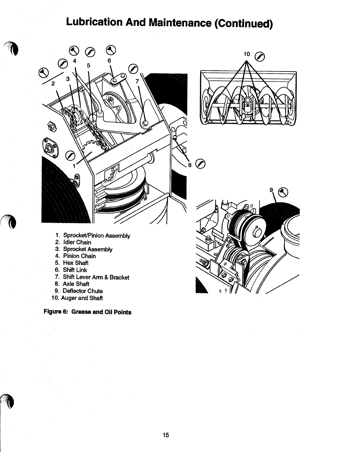 Page 17 of Ariens Snow Blower 085-ST1236 User Guide