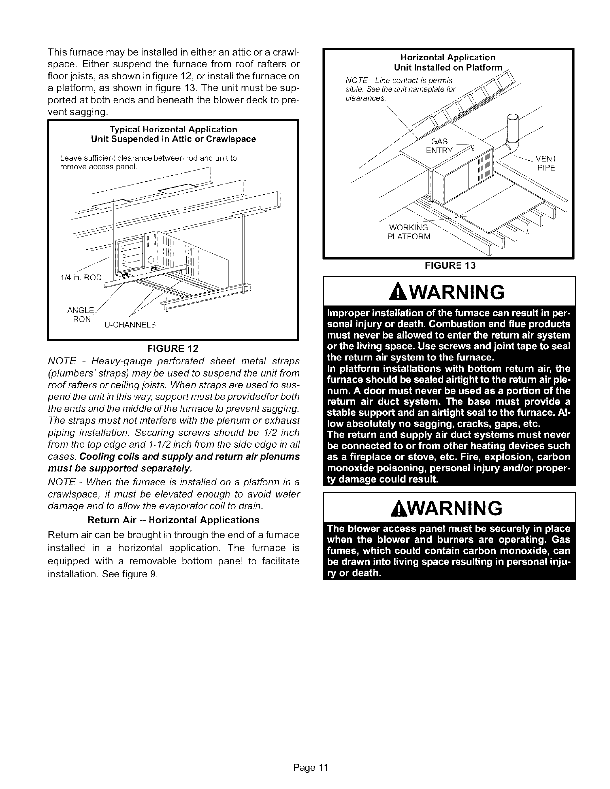 Page 11 of Lennox International Inc. Furnace G50UH-36A-070