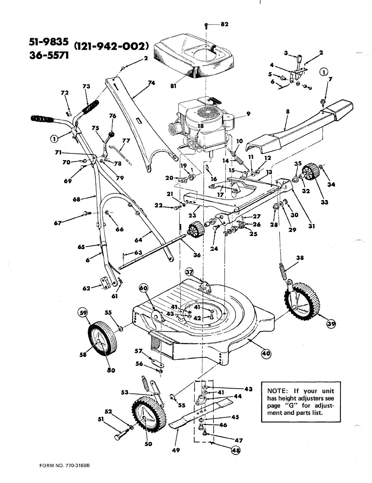 Page 2 of MTD Lawn Mower (121-942-002) User Guide