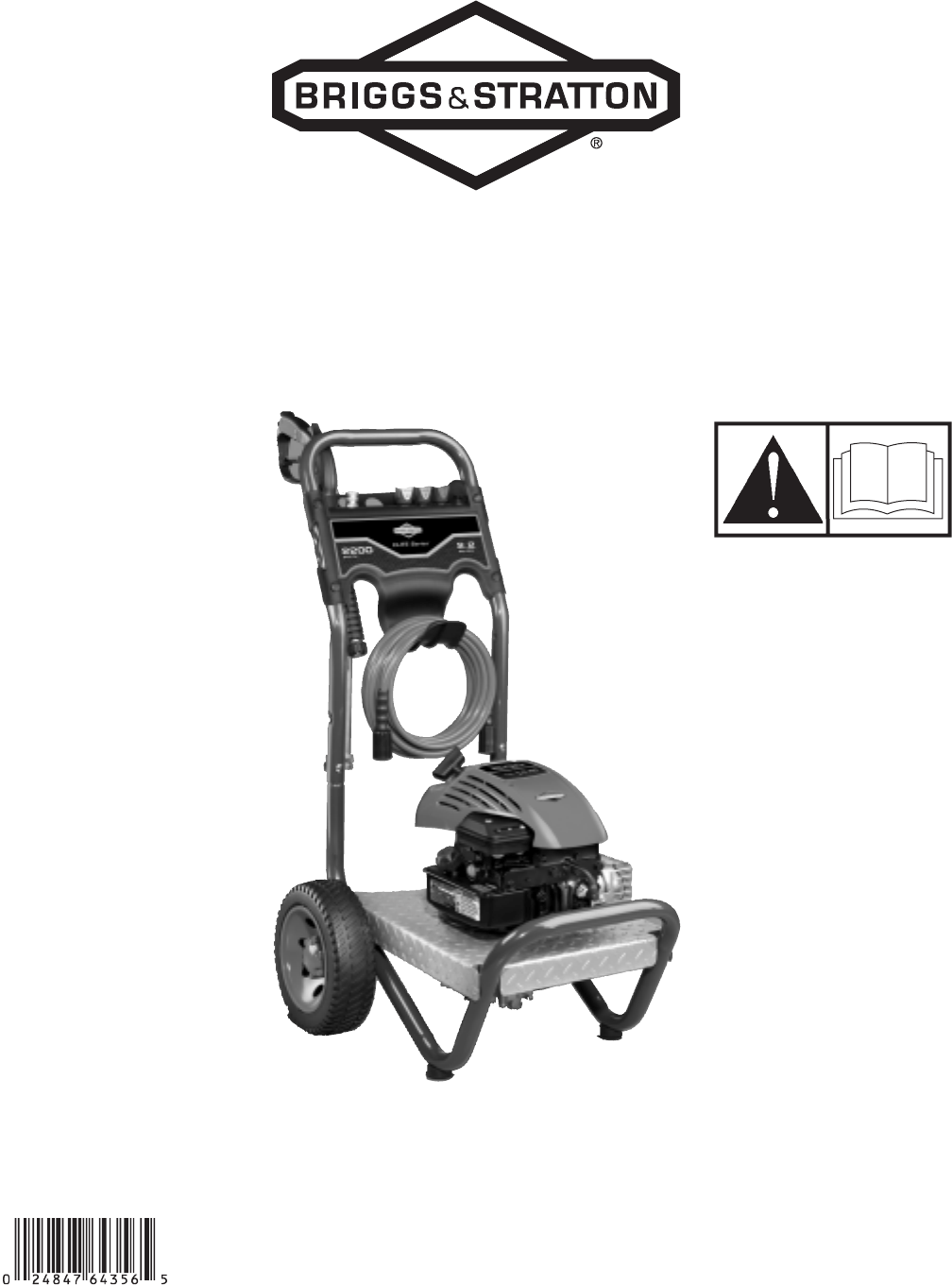 Briggs & Stratton Pressure Washer 20272 User Guide