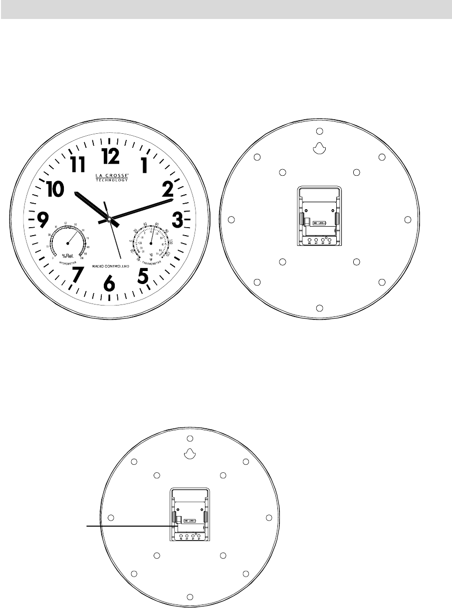 La Crosse Technology Clock WT-3165 User Guide