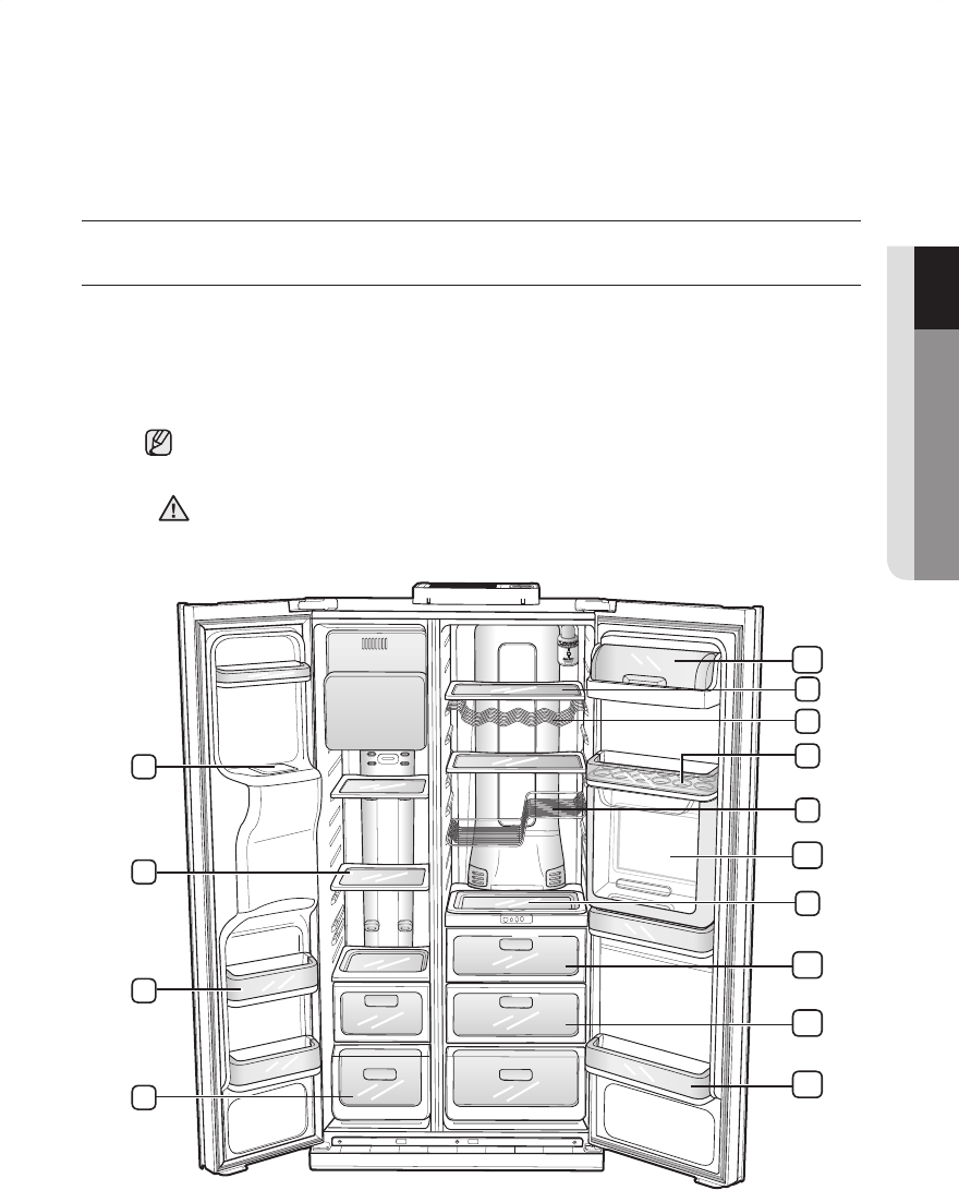 Page 29 of Samsung Refrigerator RSH3N User Guide
