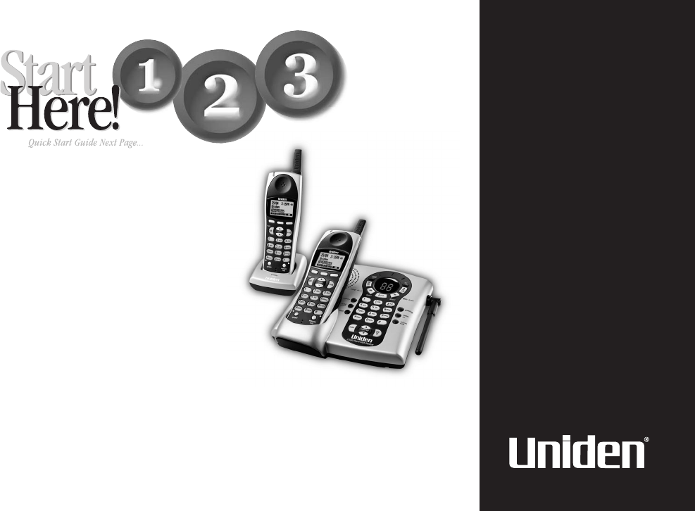 Uniden Cordless Telephone DSS 2455 User Guide