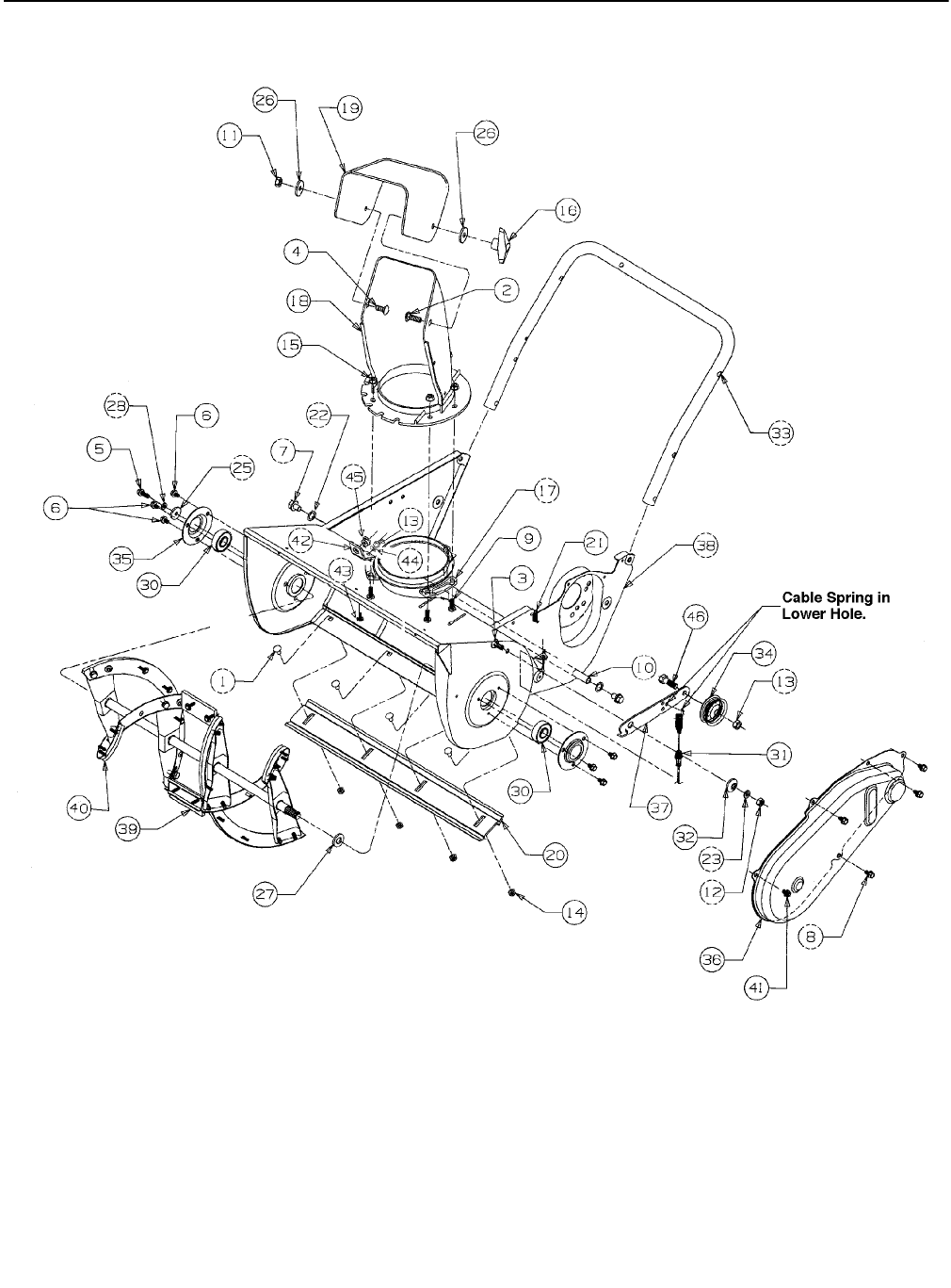Page 14 of MTD Snow Blower Series 140 through E173 User
