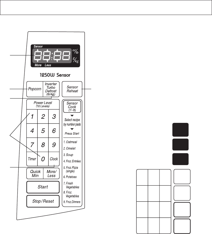 Page 43 of Panasonic Microwave Oven H625 User Guide