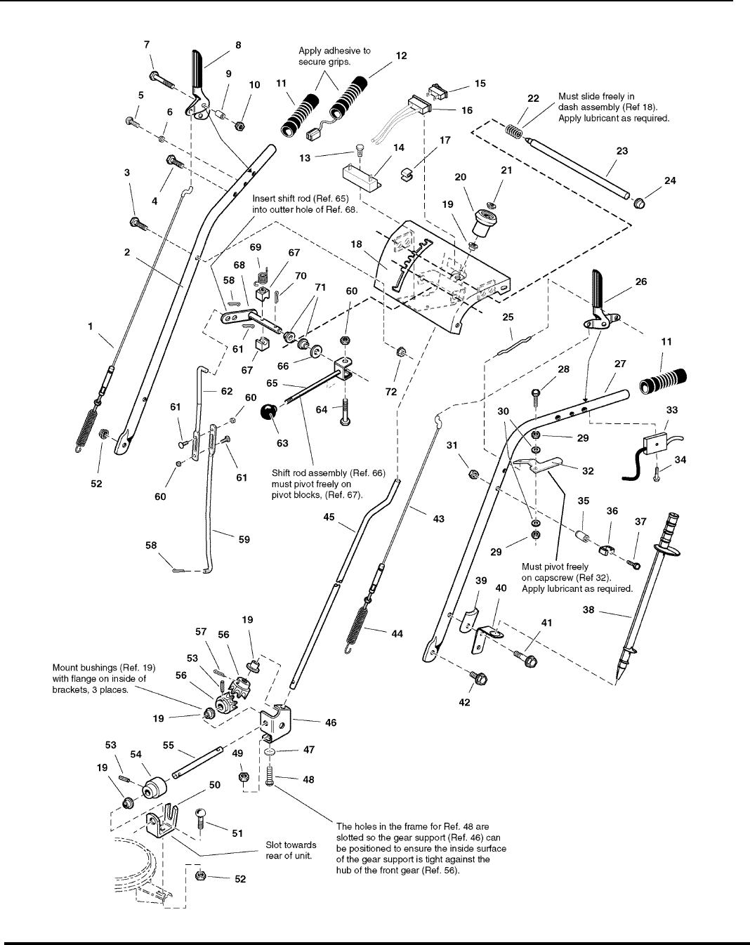 Page 4 of Snapper Snow Blower 95247E User Guide
