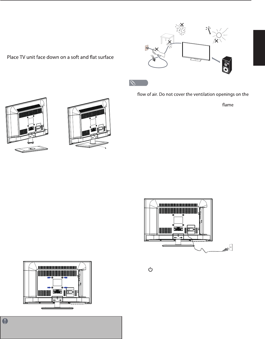 Page 9 of Haier Flat Panel Television 24D2000 User Guide