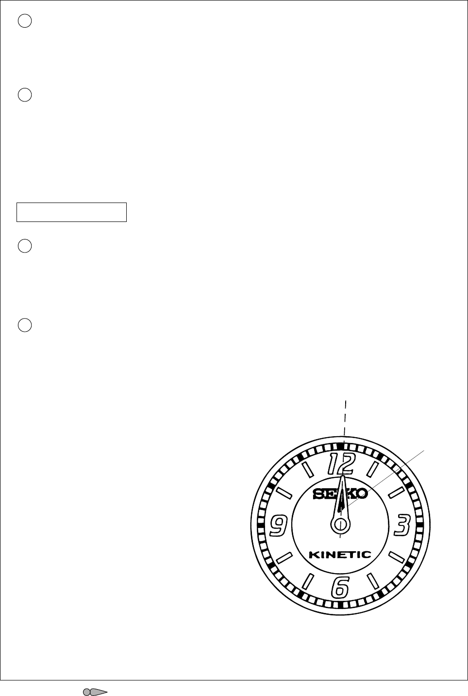 Page 6 of Seiko Group Watch 9T82A User Guide