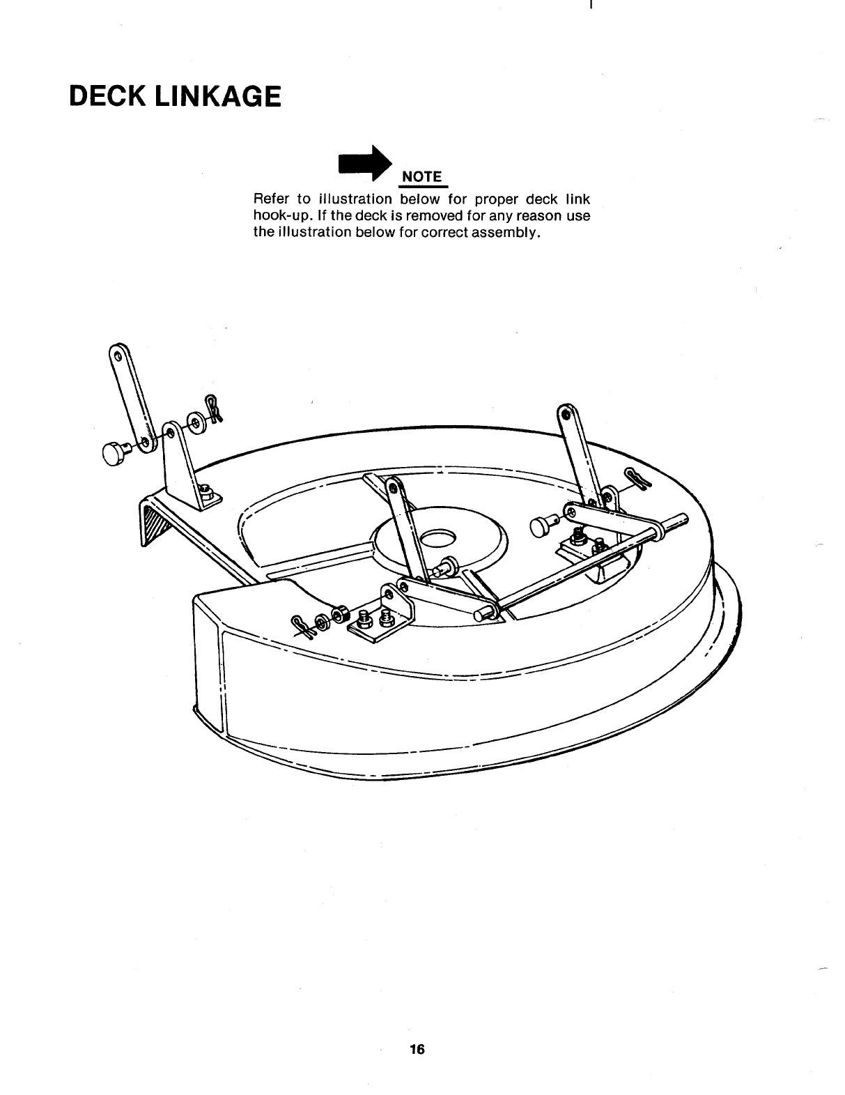 Page 16 of MTD Lawn Mower 136-525A User Guide