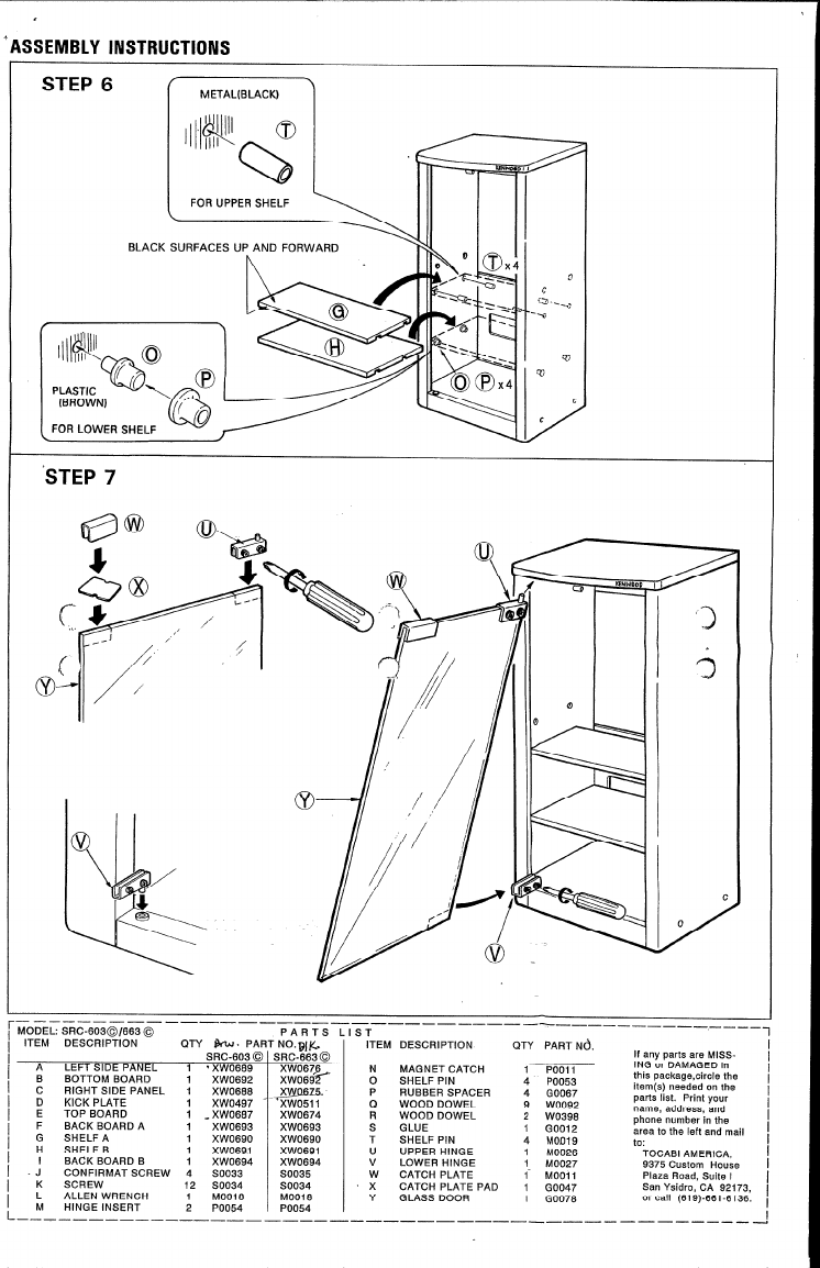 Page 4 of Kenwood Stereo System 663 User Guide