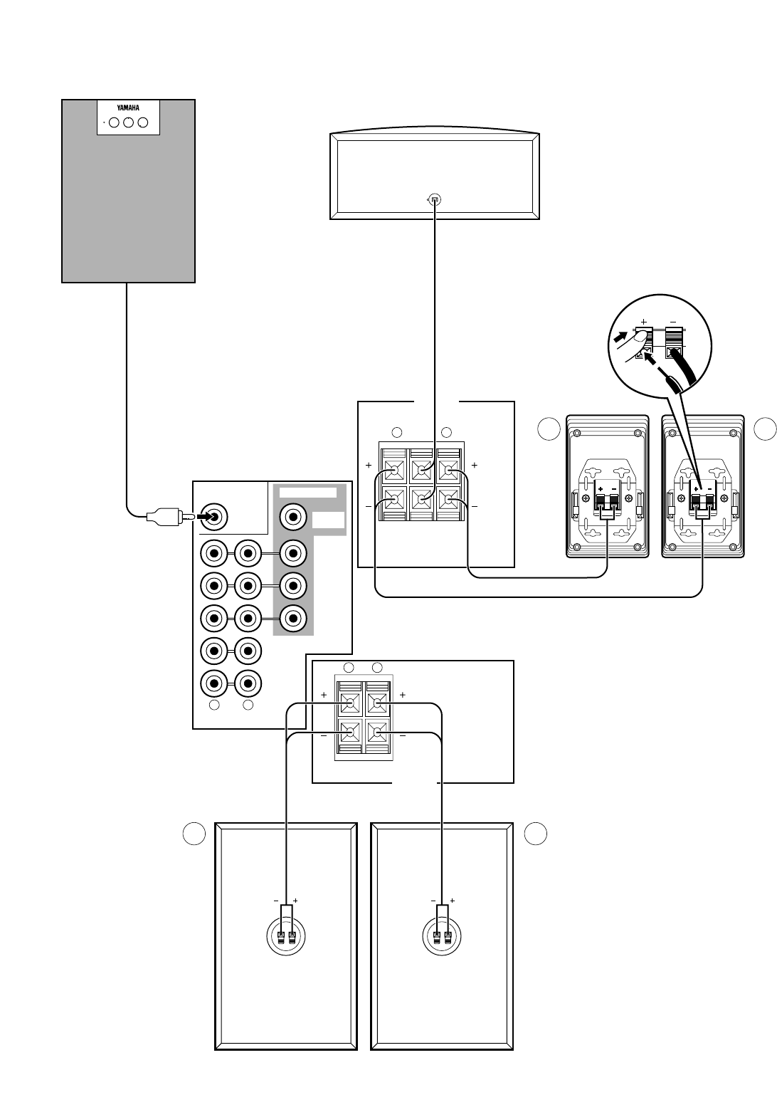 Page 10 of Yamaha Speaker System GX-70 User Guide
