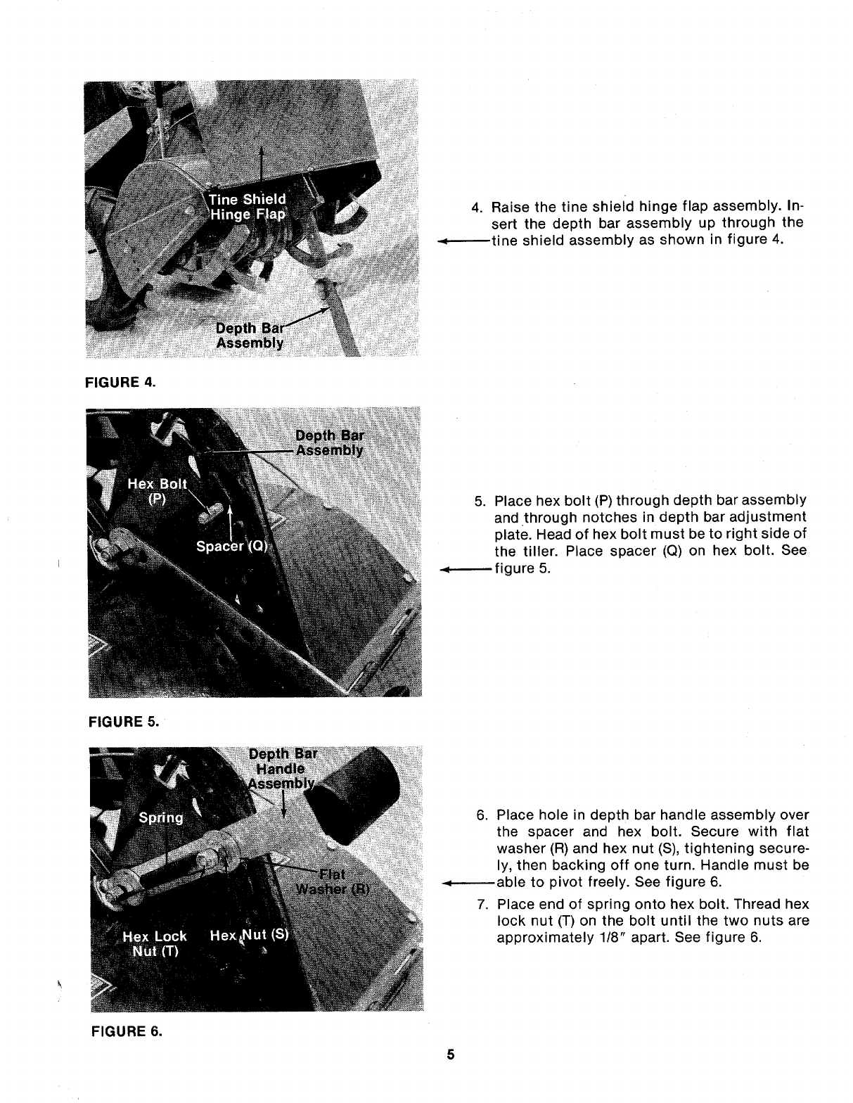 Page 5 of MTD Tiller 214-412-000 User Guide