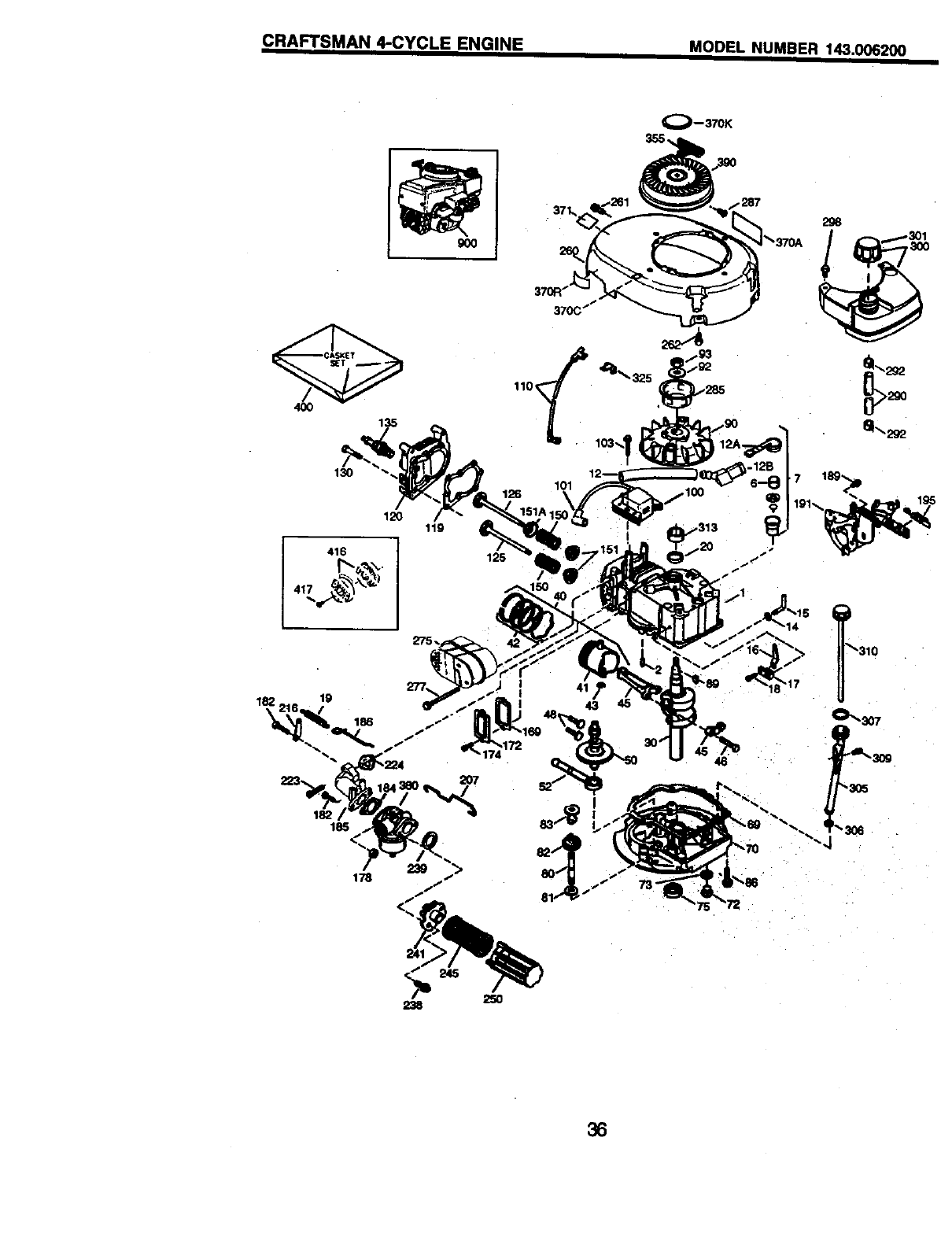 Page 20 of Craftsman Lawn Mower 917.38836 User Guide
