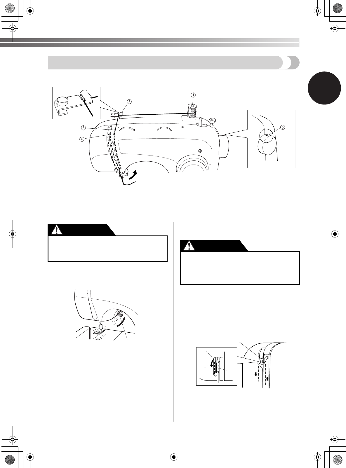 Page 23 of Brother Sewing Machine XL-2620 User Guide