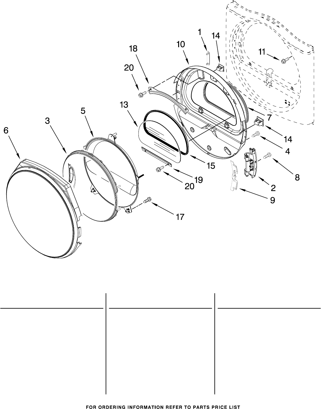 Page 7 of Whirlpool Clothes Dryer WED8300SW0 User Guide