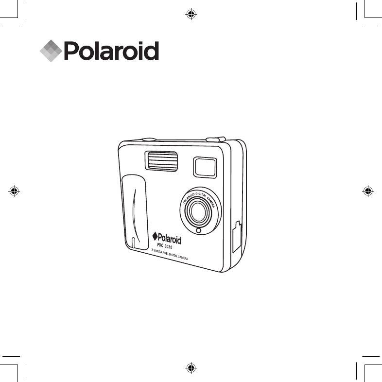 Polaroid Digital Camera PDC 3030 User Guide