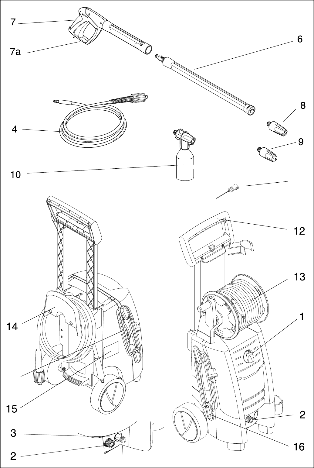 Page 17 of Nilfisk-ALTO Pressure Washer C 120.4 User Guide