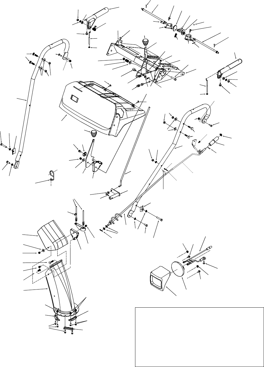 Page 32 of Sears Snow Blower 247.88852 User Guide