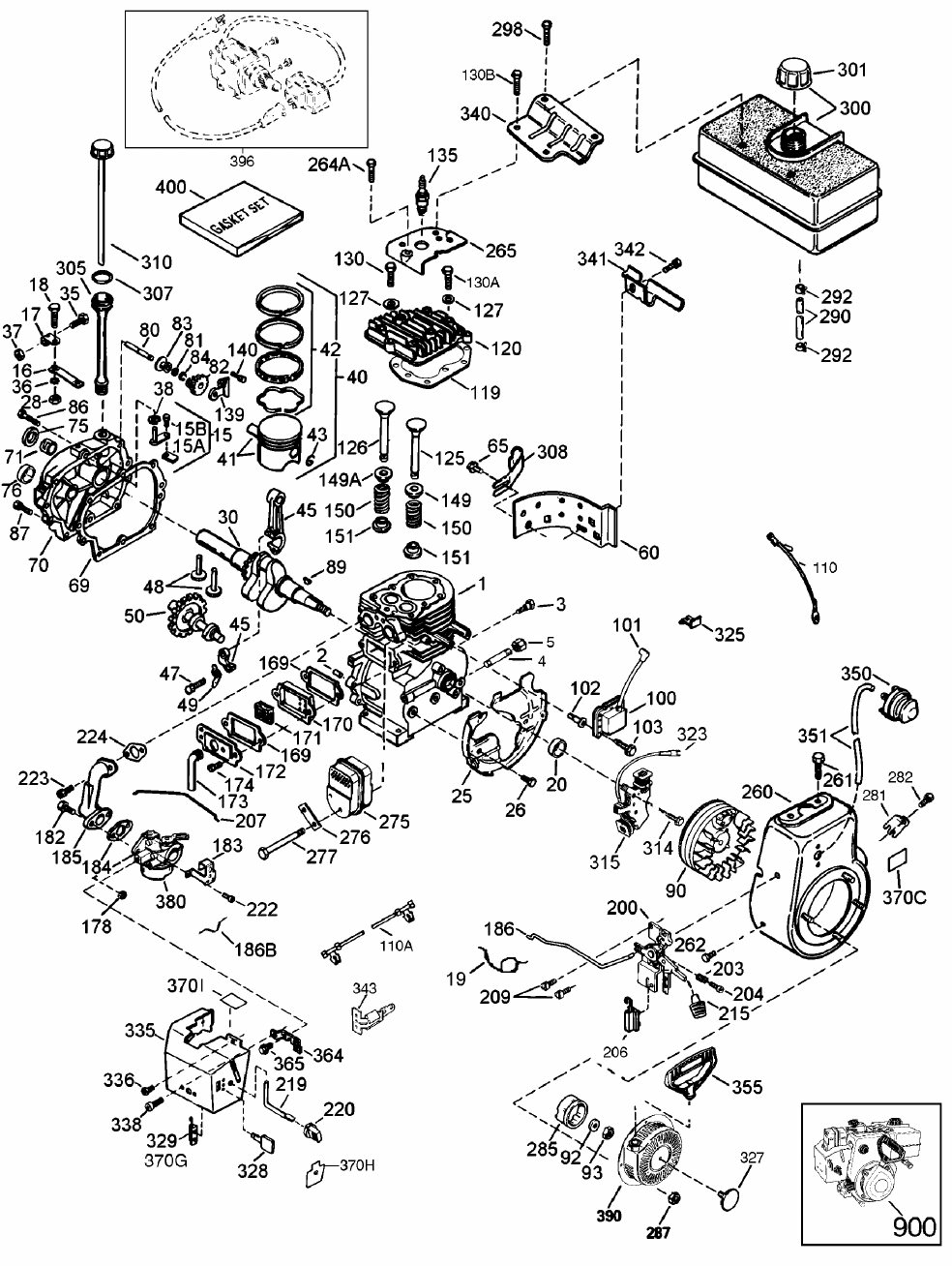 Page 36 of Sears Snow Blower 247.88852 User Guide