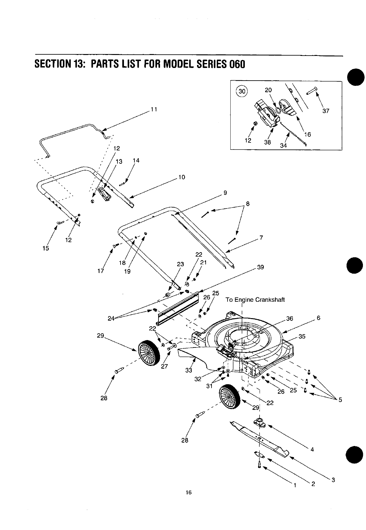 Page 16 of Yard Machines Lawn Mower 060 Series User Guide