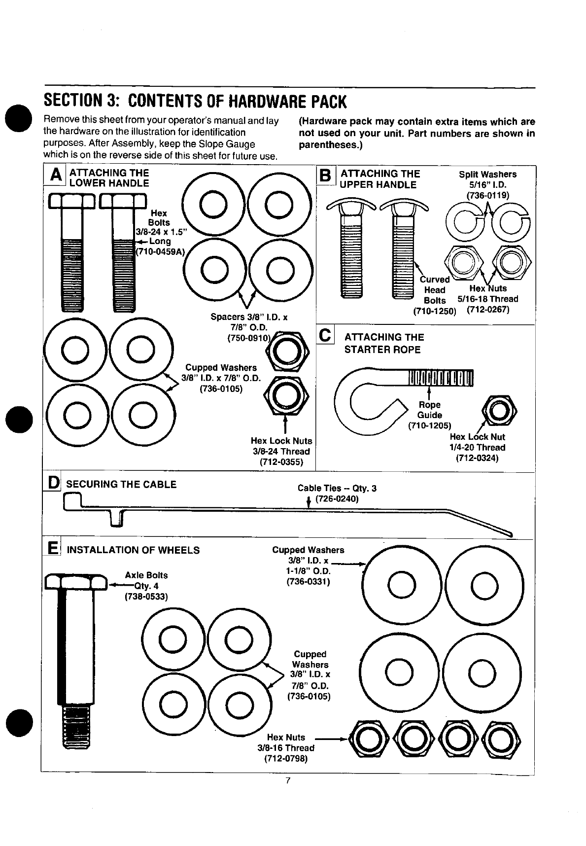 Page 7 of Yard Machines Lawn Mower 060 Series User Guide