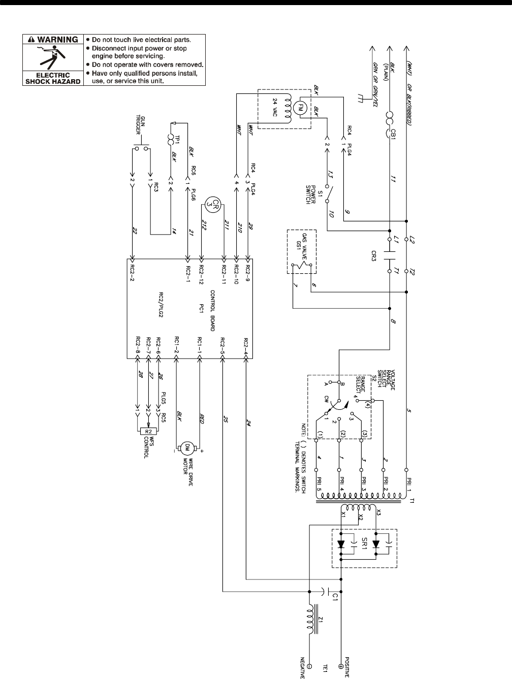 Page 33 of Hobart Welding Products Welder 140 User Guide