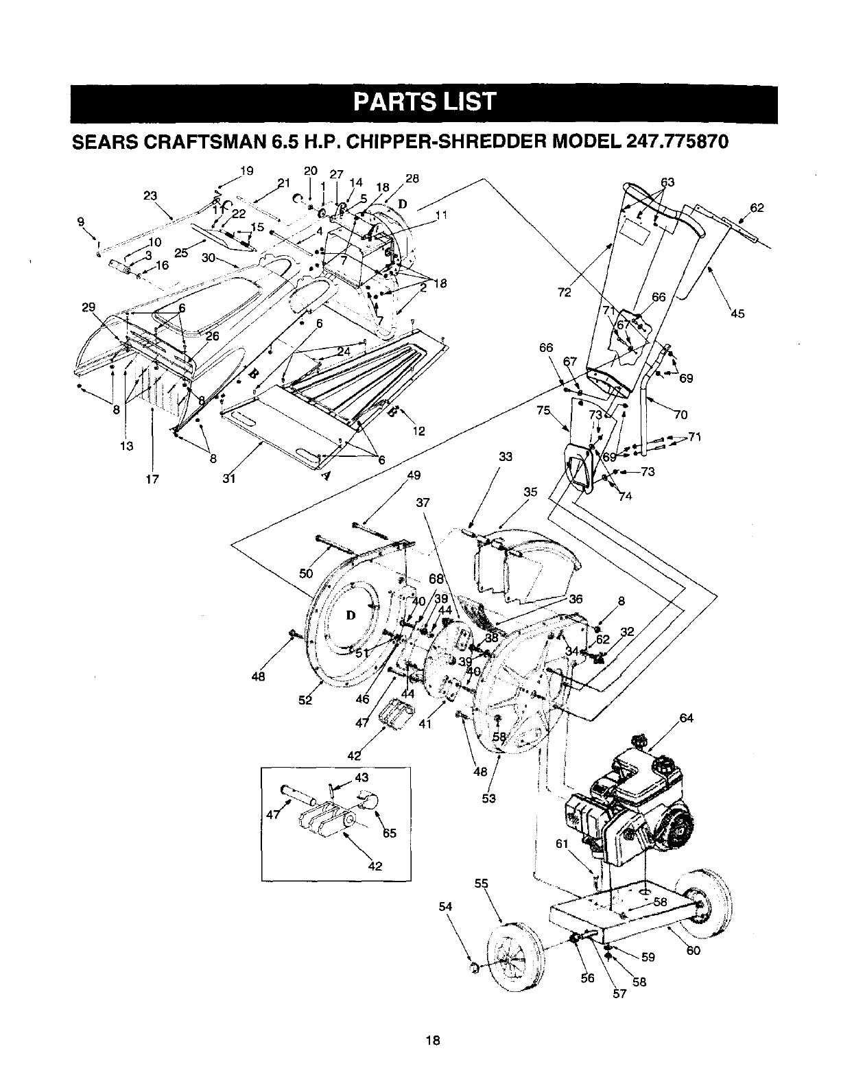 Page 18 of Craftsman Chipper 247.775870 User Guide