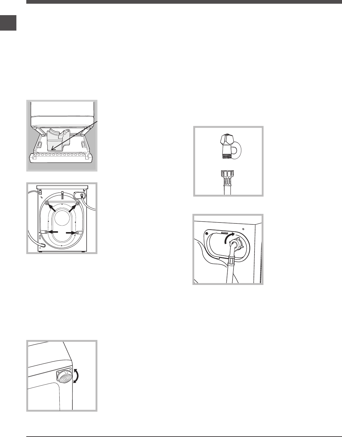 Page 2 of Hotpoint Washer WMEF 963 User Guide