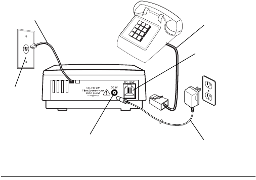 Page 8 of Radio Shack Answering Machine 43-3808 User Guide