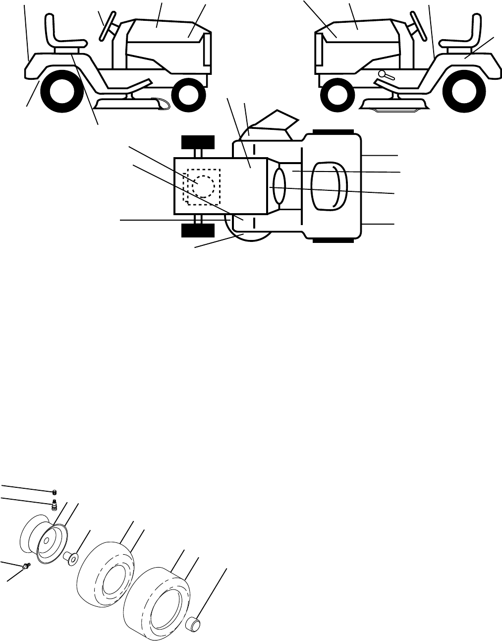 Page 46 of Poulan Lawn Mower PRGT22H48A User Guide