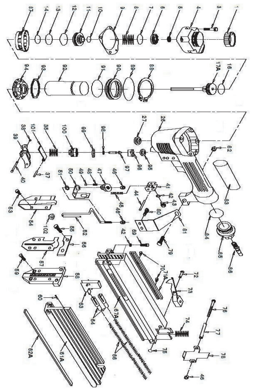 Page 10 of Central Pneumatic Air Compressor Nail Gun 40116
